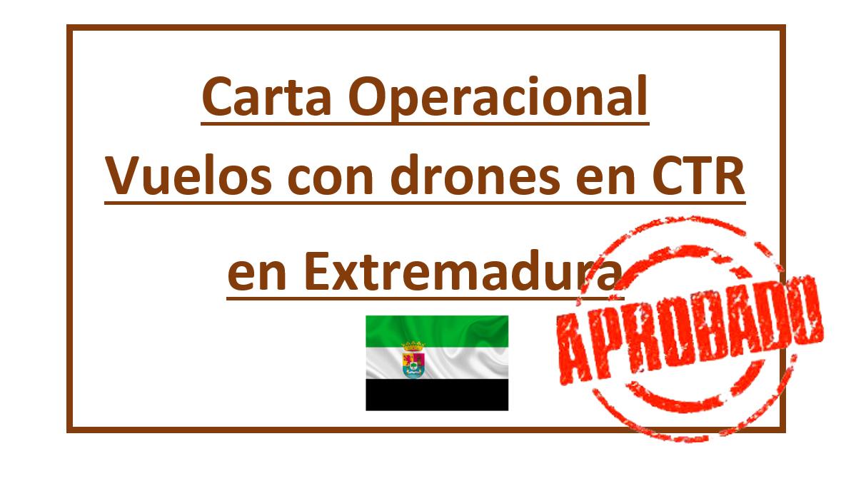 Carta Operacional Extremadura prodronex